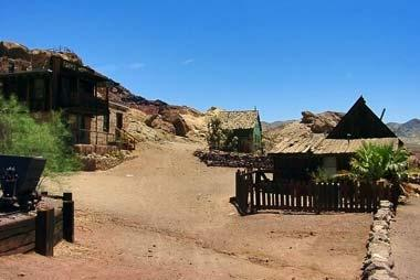 Ghost town Calico, California