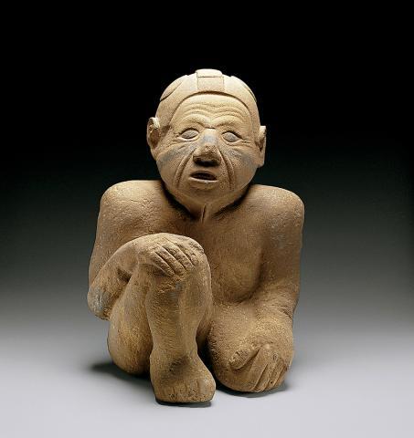 Mississippian statue known as Sandy