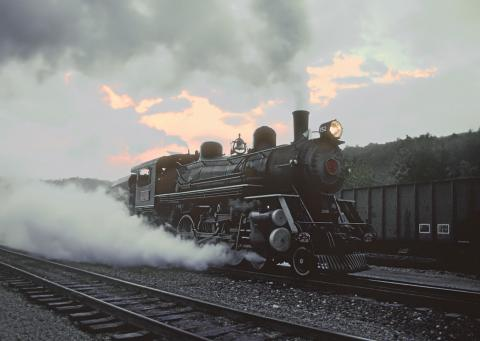 Steam locomotive L&N 152