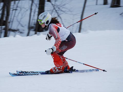 Concord High School Championship Ski Meet in New Hampshire