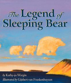 Book cover: The Legend of Sleeping Bear