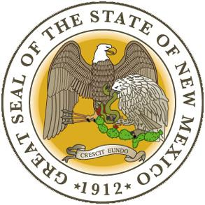 Image result for state seal of NM