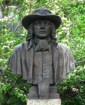 Bust of William Penn