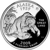 Alaska's commemorative quarter
