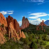 Scenic Colorado: Garden of the Gods