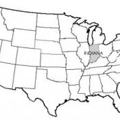 State of Indiana USA