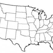 The state of Maryland USA