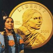 Model for U.S. Sacagawea dollar