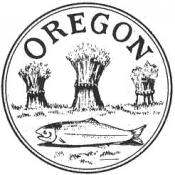 Provisional Oregon government seal (1843 to 1849)