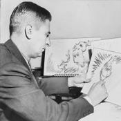 Dr. Seuss at work