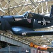 F4U Corsair in Navy Museum, Washington DC