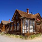 Ghost town Bodie, California