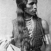 Shoshone Indian scout