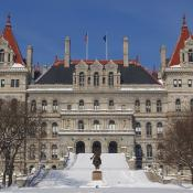 New York state capitol building