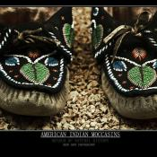 American Indian Moccasin