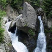 Bash Bish Falls in Massachusetts