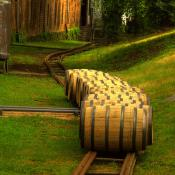 Kentucky bourbon barrels
