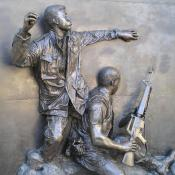 Sculpture at California Vietnam Veterans War Memorial