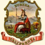 Historic California coat of arms