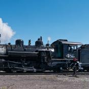 Cumbres and Toltec scenic railroad train