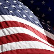 Flag of the United States of America - the star spangled banner
