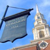 Boston Common on Freedom Trail; Boston National Historic Park