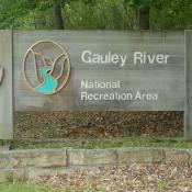 Entrance Sign; Gauley River National Recreation Area