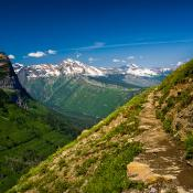 Highline Trail, Glacier National Park, Montana