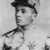 Isaac Murphy - celebrated African American jockey that won the Kentucky Derby three times