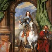 Painting of King Charles I by artist Anthony van Dyck