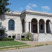 Laughlin Memorial Free Library in Ambridge, Pennsylvania