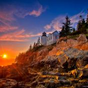 Lighthouse; Acadia National Park, Maine