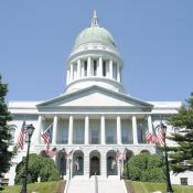 Maine State Capitol Building in Augusta