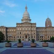 Michigan State Capitol in Lansing