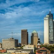 Mobile AL city skyline