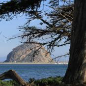 Morro Rock; Morro Bay State Park, California