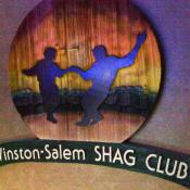 Shag Club sign in North Carolina