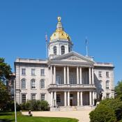 New Hampshire Capitol building in Concord