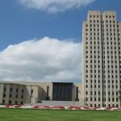 North Dakota State Capitol in Bismarck