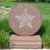 Oklahoma Seal Sculpture