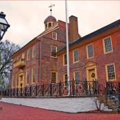 Old Courthouse; Historic District of New Castle, Delaware