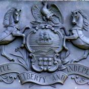 Pennsylvania coat of arms at Gettysburg National Military Park