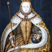 Queen Elizabeth I in her coronation robes