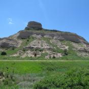 Scotts Bluff National Monument in Nebraska