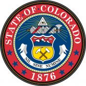 Official state seal of Colorado