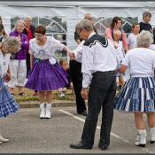Square dance: bow to your partner