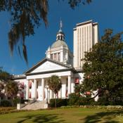 Florida Capitol old and new