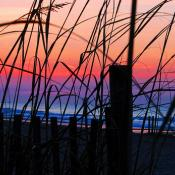 Sunrise at Myrtle Beach, South Carolina