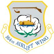 164th Airlift Wing emblem