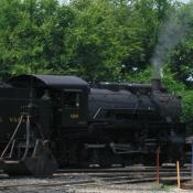 Locomotive at the Tennessee Valley Railroad Museum in Chattanooga